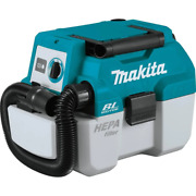 Makita Hepa Filter Portable Wet/dry Dust Extractor/vacuum 18v Cordless Tool Only