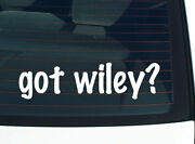 Got Wiley Family Pride Tree Reunion Last Name Car Decal Sticker