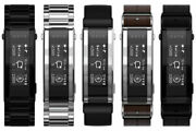 Sony Wena 3 Rubber Leather Silver Black Brown Silver 5 Types [japanese Ver.]