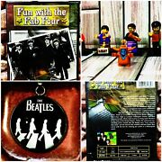 Fun With The Fab Four🎸the Beatles Dvd➕5 Mini Figures🥁➕ Necklace🤘
