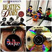 The Beatles Diary Dvd🎸➕5 Mini Figures🥁➕ Necklace 🤘