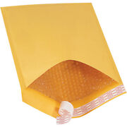 10.5 X 16 Inch Kraft Bubble Mailers 5 Padded Envelopes Self Seal, Pack Of 250
