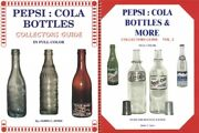 2 Books Pepsi Cola Bottles Id Guide Vols 1-2 By James Ayers Glass Soda Antique