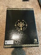 Sealed New In Box Legend Of Zelda Breath Of The Wild Master Edition Switch