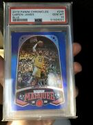 2019-20 Chronicles Marquee Blue Lebron James 37/99 Psa 10 Low Pop 8