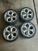 4 Used Continental Extreme Contact Tires Dws06 - 235/40zr18 95y