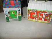 Melissa And Doug Wooden Latches Barn And Doorbell Toy House With Keys