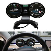 Car Speedometer Accessory Cluster Lcd Display Dashboard For Tesla Model 3 / Y