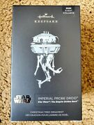 Star Wars Imperial Probe Droid Metal Christmas Holiday Ornament 1/3200 Sdcc2020