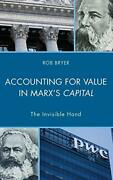 Accounting For Value In Marxand039s Capital The Invisible Hand Heterodox Studies In