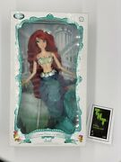 Disney Store Little Mermaid Ariel Limited Edition Doll 17 Brand New, Untouched