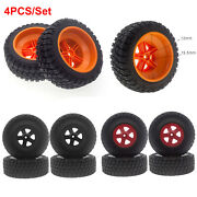Type A Tires Parts For 1/10 Short Course Truck Huanqi 727 Remo Dead Mouse 10