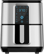 6.8qt Air Fryer, 1700w Toaster Oven And Oilless Cooker With Temperature Control,