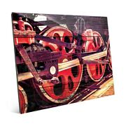 And039spinning Down The Tracksand039 Acrylic Wall Art