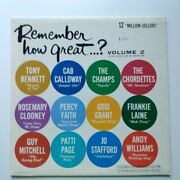 Remember How Great... Volume 2 Xtv 69408 1962 Columbia Record Productions