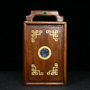 Chinese Antique Vintage Rosewood Handmade Wooden Jewelry Box With Drawers 7030