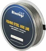 26lb Fishing Steel Wire Fishing Lines Max Power 7 Strands Super Soft
