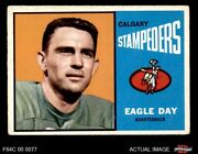 1964 Topps Cfl 13 Eagle Day - Stampeders Ole Miss 4 - Vg/ex