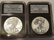 2013 American Silver Eagle West Point Set Ngc 70 Early Releases Free Shipping