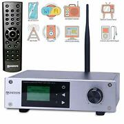 Tunersys Wifi Internet Radio Tuner Stereo Amplifier Network Receiver With