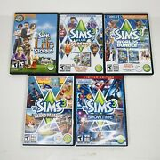 The Sims 3 Expansion Packs Lot Of 5 Pc Mac Complete With Manuals Codes