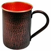 Straight Moscow Mule Copper Mugs And Cups, Copper Mug For 20 Oz Copper Black