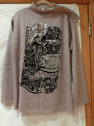 Jean Paul Gaultier Unique Light Weight Wool Sexy Menand039s Top Italy Size M
