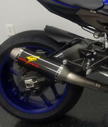 R1 Full Titanium Exhaust System With Carbon 265mm Silencer Exy-17r1-ftc26