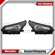 2 Tyc Headlight Assembly Left Right For Lexus Nx200t