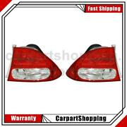 2 Tyc Tail Light Assembly Left Right For Civic 2009-2011
