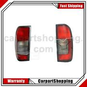 Left Right Tail Light Assembly 2x Tyc For Nissan Frontier 2002-2004