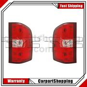Tyc 2x Left Right Tail Light Assembly For Chevrolet Silverado 3500 2011-2011