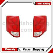 2 Tyc Tail Light Assembly Left Right For Grand Caravan Dodge