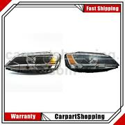 2 Tyc Headlight Assembly Left Right For Volkswagen 2011-2014