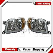2 Tyc Headlight Assembly Left Right For Pilot 2006-2008