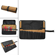 10 Pockets Waterproof Roll Up Tool Kit Pouch Accessories For Motorcycle 1pc