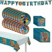 Space Jam 2 Birthday Party Supplies Decorations
