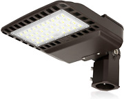 150w Led Parking Lot Lights 19500lm Natural White 5000k Ip65 Waterproof Outdoor