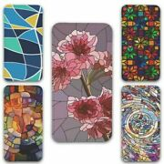 For Samsung Galaxy S10 Flip Case Cover Stained Glass Group 2