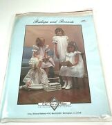 Chery Williams Bishops And Bonnets Pattern Large Size 4-10 Smocking Sewing Dress