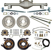 Currie 79-93 Mustang 5-lug Rear End And Disc Brakeslinese-brake Cablesaxlesetc
