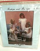 Chery Williams Bishops And Bonnets Pattern Sm Size 6mo-3yr Smocking Sewing Dress