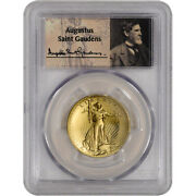 2009 Us Gold 20 Ultra High Relief Double Eagle - Pcgs Ms70 - St. Gaudens Label
