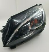 Mercedes 2015-18 C-class Lh Led Headlight Ass. Used. Good Condition