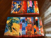 Team Ups Spiderman 1995 Fleer Ultra Gold-foil Signature Collection Cards Mint