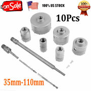10pc/set Masonry Drilling Cutter Tools Hole Drill Cutter Kit For Bricks Concrete
