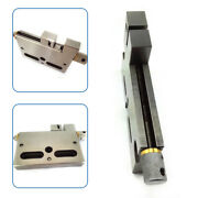 4 / 100mm Wire Edm High Precision Vise Stainless Steel Jaw Opening Clamp Tool