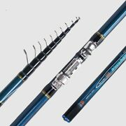 Telescopic Bolo Fishing Rod 4/4.5/5/6m High Carbon Trout Ultra Light Bolognese