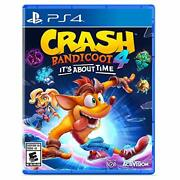 Crash Bandicoot 4 Its About Time Latam Ps4 Game New