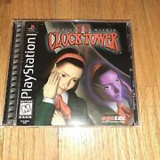 Clock Tower 2 The Struggle Within Playstation Ps1 Registration Near Mint🔥🔥🔥🔥
